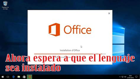 Como Cambiar el Idioma de Microsoft Office 2016   YouTube