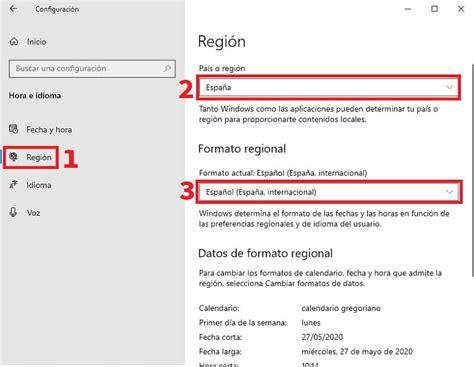 Como CAMBIAR El Idioma De Windows 10 A ESPAÑOL 2020