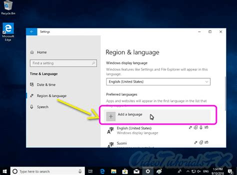 Como Cambiar el Idioma de Windows 10 de Ingles a Full ...