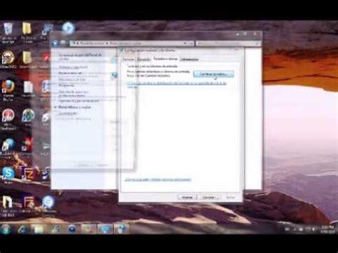 Como cambiar el idioma del teclado de una PC   YouTube