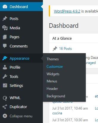 Cómo cambiar el logo de mi blog Wordpress y cuáles son sus ...