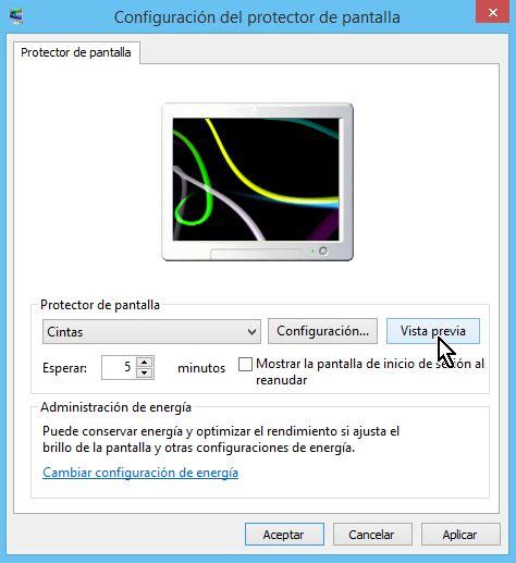Cómo cambiar el protector de pantalla en Windows   TecniComo