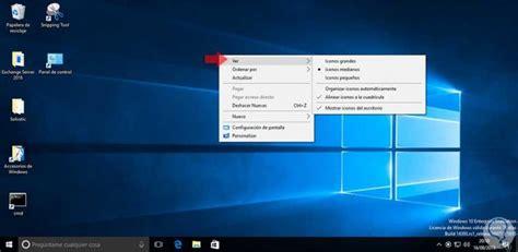 Cómo cambiar el tamaño de los iconos en Windows 10   Solvetic