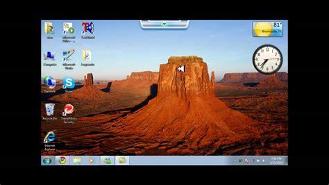 Como cambiar fondo de pantalla con win 7  SOLO ASUS EEE PC ...