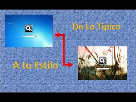 Como Cambiar La Imagen A la pantalla de Inicio y Bloqueo ...