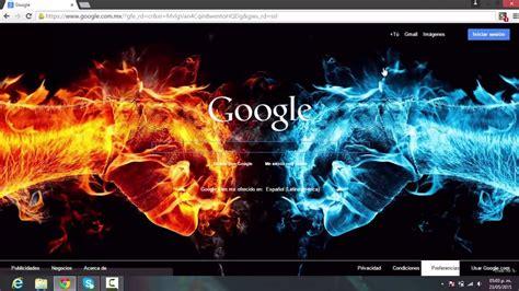 COMO CAMBIAR LA IMAGEN DE FONDO de Google Chrome 2015 ...