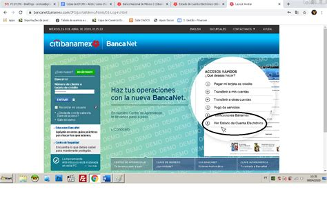 Como Checar Mi Estado De Cuenta Banamex【CLIC Y DESCUBRE】