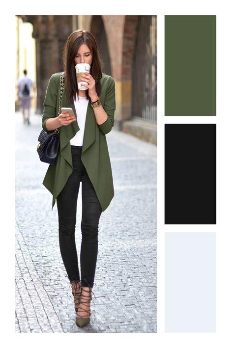 Cómo combinar el color verde militar   Tizkka | Como ...
