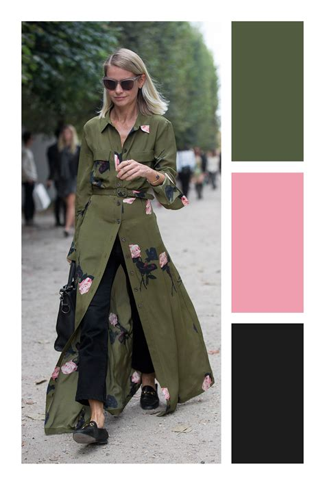 Cómo combinar el color verde militar   Tizkka ...