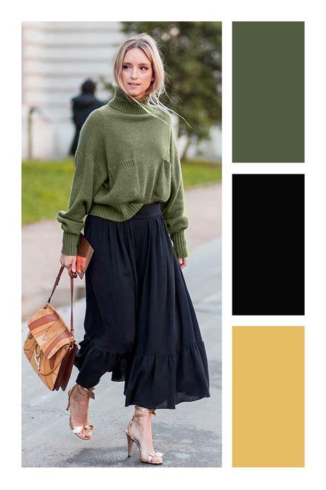 Cómo combinar el color verde militar | Vestido verde ...