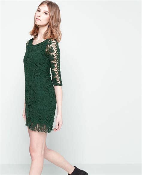 Como combinar vestido verde botella – Hermosos vestidos