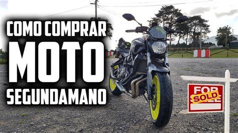 Como COMPRAR MOTO de SEGUNDA MANO | Guia practica ...