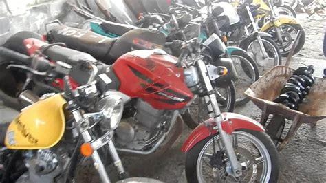 Como comprar uma moto de leilão  cabrito vídeo 1    YouTube
