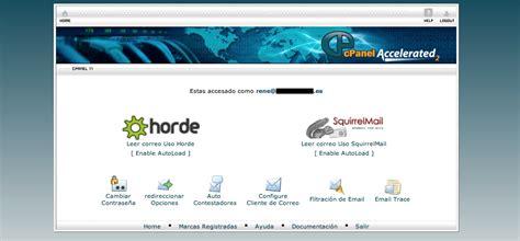 Cómo conectarse al webmail en CPanel   Ayuda informática