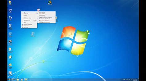 como configurar los iconos del escritorio de windows 7 ...