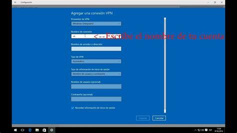 Como Configurar una VPN en Windows 10   YouTube