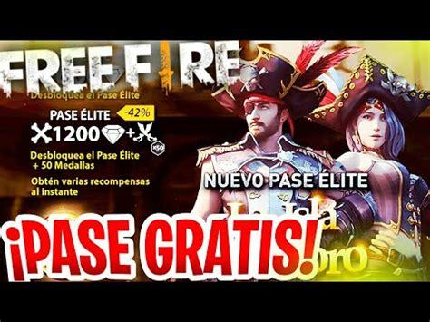 Como conseguir el Pase Elite GRATIS para Free Fire sin ...