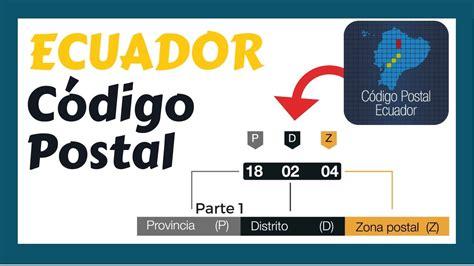 Como Consultar el CÓDIGO POSTAL Ecuador en internet ...
