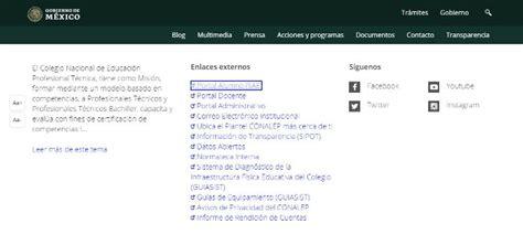 Como consultar en línea las Calificaciones en CONALEP ...