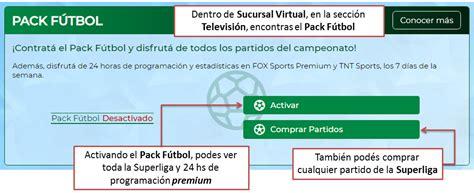 ¿Cómo contratar el Pack Fútbol?   Telecentro Ayuda