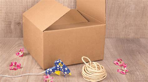 Cómo Convertir Una Caja De Cartón En Una Caja Organizadora ...