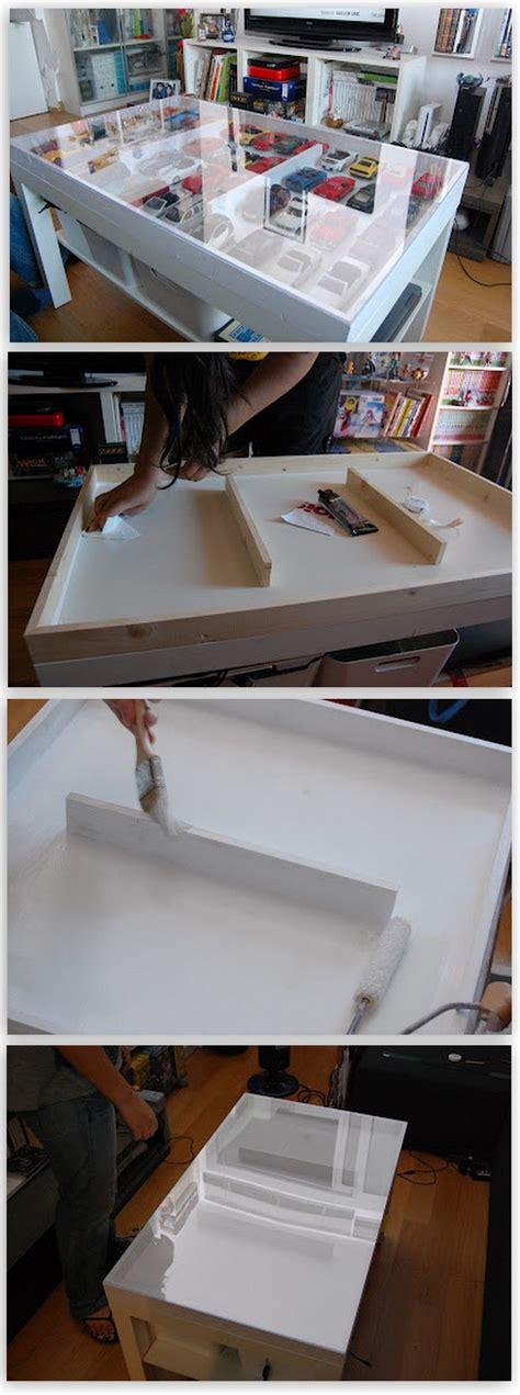 Cómo convertir una mesa LACK de Ikea en una vitrina ...