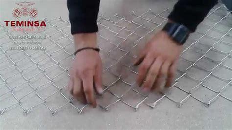 Cómo cortar y empalmar simple torsión Enjerado o Malla ...
