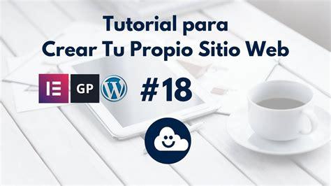 Cómo Crear el Blog de Tu Página Web en WordPress con ...
