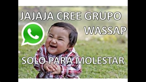 Como crear grupos de chat en WhatsApp en Android   YouTube