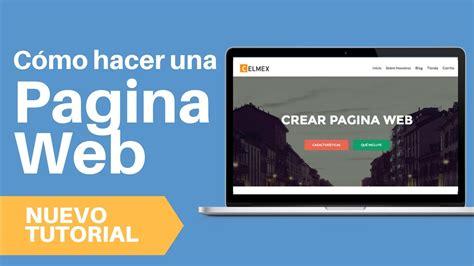 Como Crear Pagina Web 2017   Tutorial Wordpress Español ...