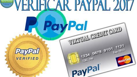 Como CREAR tarjeta de Credito para VERIFICAR PAYPAL 2017 ...