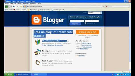 Como crear un blog en español gratis   YouTube