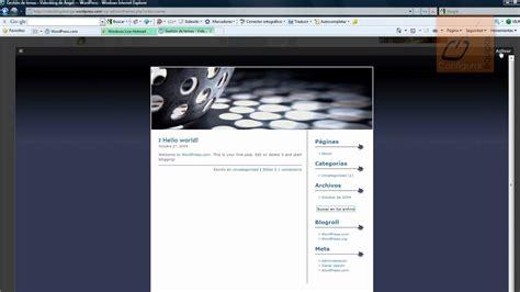Cómo crear un blog en Wordpress gratis   YouTube