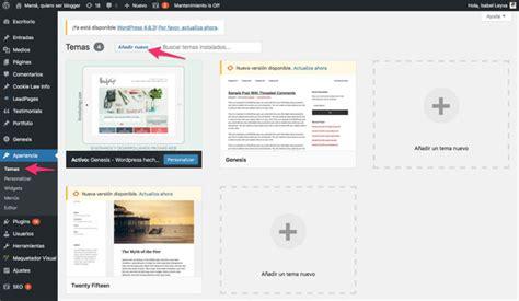 Cómo crear un blog en Wordpress, paso a paso fácil