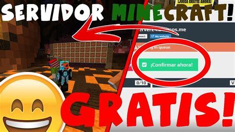 Como crear un servidor en Minecraft gratis sin descargas y ...