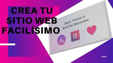 Como crear una PAGINA WEB con wordpress. Como crear una ...