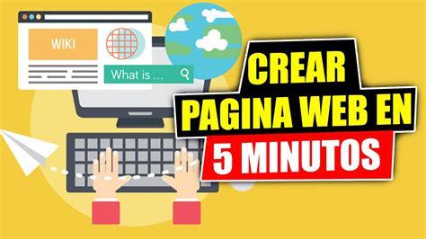 Como Crear Una Pagina Web   en 5 minutos   con WordPress ...