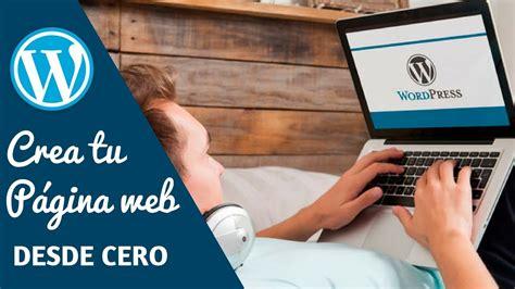 Como crear una página web en WordPress para tu negocio ...