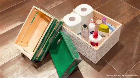 Cómo decorar cajas de madera con decoupage, papel pintado ...