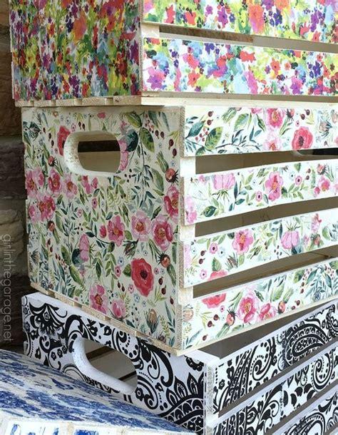 Cómo decorar Cajas de Madera con papel Decoupage