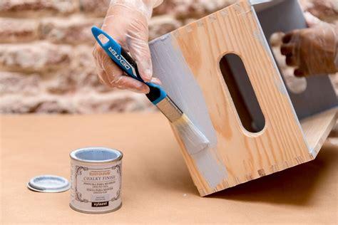 Cómo decorar cajas de madera con papel pintado   Cristina ...