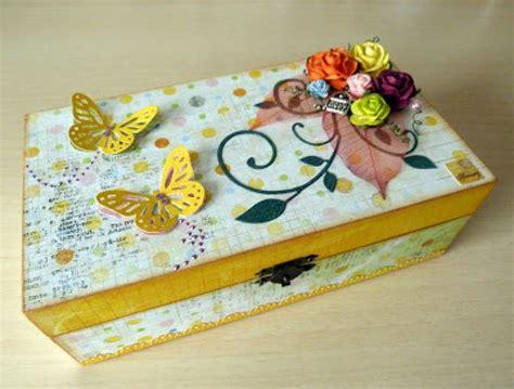 Cómo decorar cajas de madera   Manualidades
