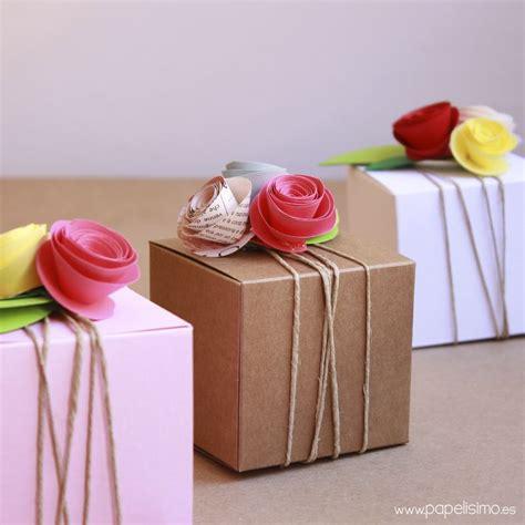 Cómo decorar cajas de regalo para boda   Papelisimo   Como ...