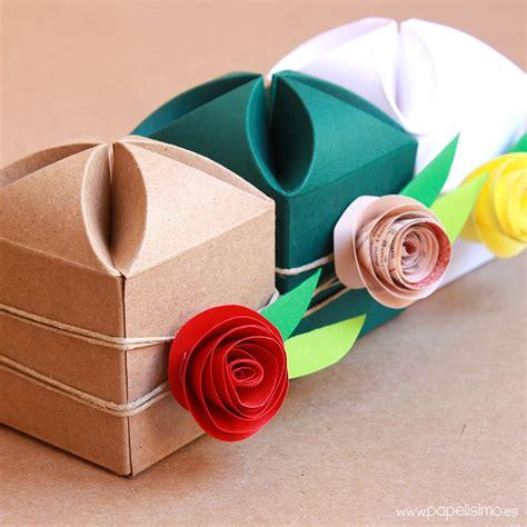 Cómo decorar cajas de regalo para boda   PAPELISIMO