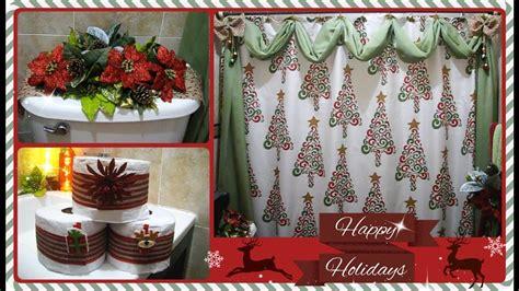 Como decorar el baño para navidad paso a paso   YouTube