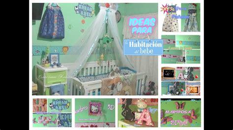 Como Decorar la habitacion de un bebe, Ideas Economicas y ...