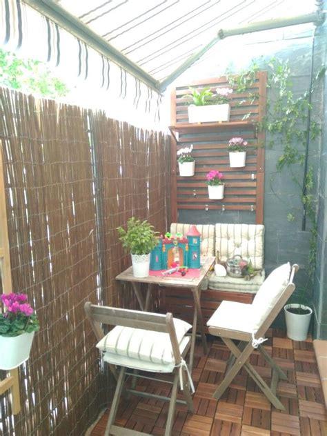 Cómo decorar terraza pequeña | Decorar terrazas pequeñas ...