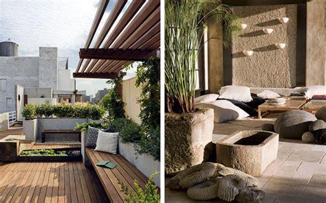   Cómo decorar terrazas amplias y porches