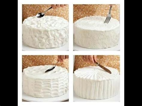 como decorar tortas con crema chantilly paso a paso   YouTube