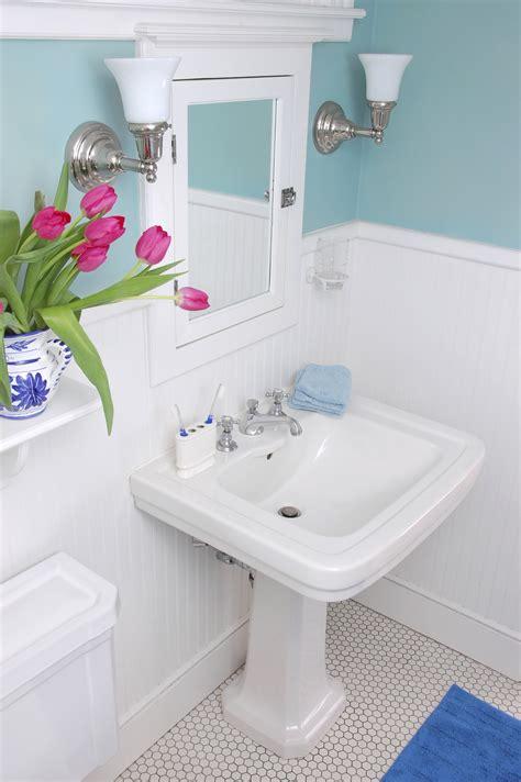 Cómo decorar un baño pequeño   VIX
